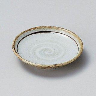 唐津白刷毛目3.0皿 10cm 和食器 小皿 業務用