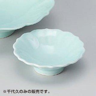 翡翠花形千代口 和食器 刺身用千代久 業務用 約8.5cm さしみ用 お造り用 しょうゆ入れ 醤油皿 たれ用 タレ皿 珍味入れ