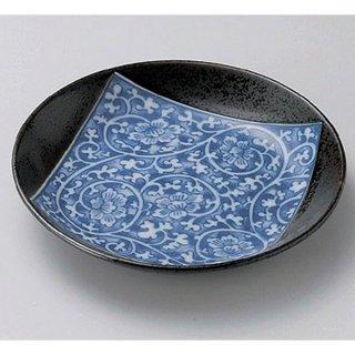 南蛮タコ唐草5.0皿 17cm 和食器 フルーツ皿・銘々皿・取皿 業務用