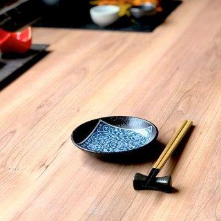 南蛮タコ唐草3.5皿 12cm 和食器 フルーツ皿・銘々皿・取皿 業務用