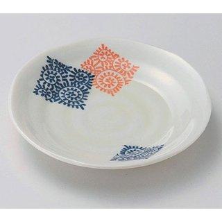 モダン唐草3.5皿 12cm 和食器 フルーツ皿・銘々皿・取皿 業務用