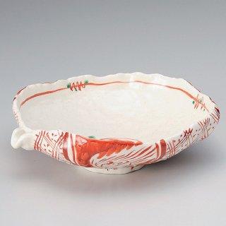 赤絵片口手鉢 和食器 大鉢 業務用 約26cm 和風 鉢 盛鉢 おしゃれ 日本料理 割烹料理 盛り合わせ 盛り込み 刺身