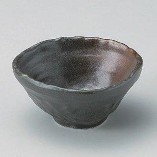黒備前なぶり三角小鉢 和食器 小鉢(小) 業務用 約11cm