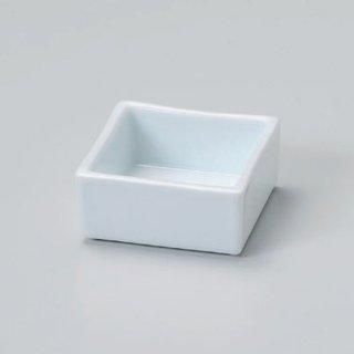 白磁スタック角鉢 和食器 小付 業務用 約7.2cm