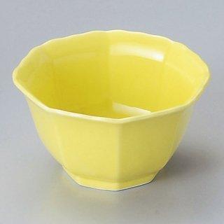 黄春八角小鉢 大 和食器 小鉢(小) 業務用