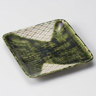 織部菱紋角取皿 和食器 フルーツ皿・銘々皿・取皿 業務用