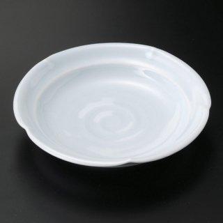青白磁5.0丸皿 和食器 フルーツ皿・銘々皿・取皿 業務用