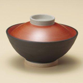 黒塗内朱蓋付大茶 和食器 蓋付大茶 業務用