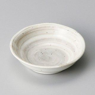 刷毛粉引3.0深皿 和食器 小皿 業務用