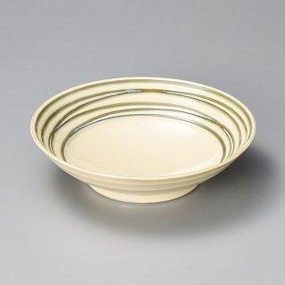 ビードロらいん250ボウル 和食器 大鉢 業務用 約25cm 和食 和風 鉢 盛鉢 サラダ 揚げ物 煮物 パスタ皿 カレー皿