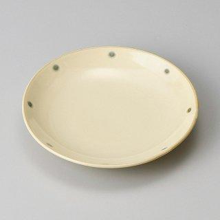 ビードロ水玉160プレート 和食器 フルーツ皿・銘々皿・取皿 業務用