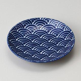 瑠璃なみ5.0皿 和食器 フルーツ皿・銘々皿・取皿 業務用