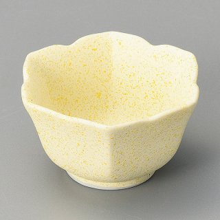 レモン六角桔梗小付 和食器 珍味 業務用