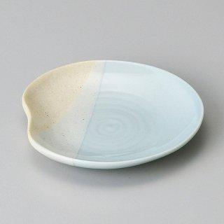 ほのかブルー10cm小皿 和食器 小皿 業務用
