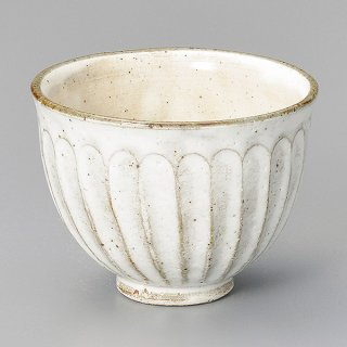 粉引しのぎ陶碗 和食器 飯碗 業務用