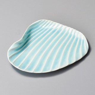 青白シェル変形皿 和食器 変形皿 業務用