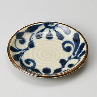 琉球瑠璃唐草5.0皿 和食器 フルーツ皿・銘々皿・取皿 業務用