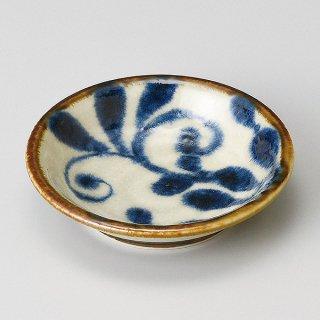 琉球瑠璃唐草3.0皿 和食器 小皿 業務用