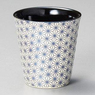 ブルー花カップ 和食器 ロックカップ 業務用