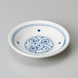丸文様リム3.3皿 和食器 小皿 業務用