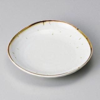 鉄粉流し5.0皿 和食器 フルーツ皿・銘々皿・取皿 業務用