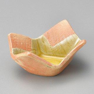 黄灰釉ダイヤ型小鉢 和食器 小鉢(小) 業務用