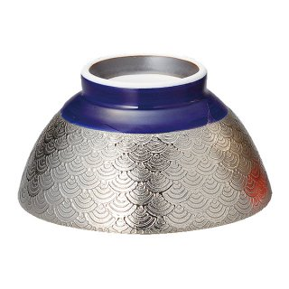 波紋EGルリ巻茶碗 S 和食器 飯碗 業務用