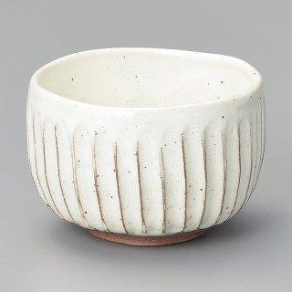 粉引ソギ目小抹茶 和食器 抹茶碗 業務用