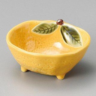 黄柚子三ッ足小付 和食器 小付 業務用