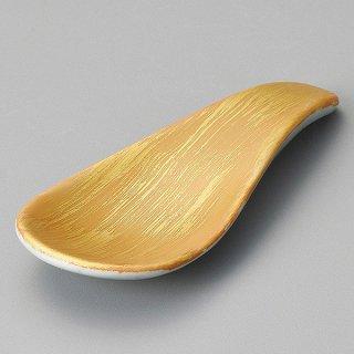 金彩刷毛目箸置珍味 和食器 珍味 業務用
