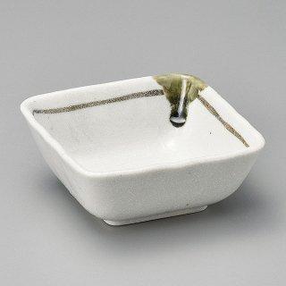 志野ライン36角小鉢 和食器 小鉢(小) 業務用
