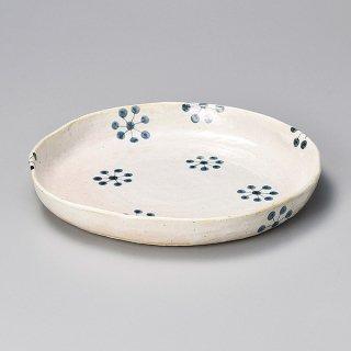 藍染9.0丸皿 和食器 大鉢 業務用 約27cm 和食 和風 鉢 盛鉢 惣菜 総菜 おばんざい サラダ 揚げ物 煮物 日本製