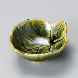 織部木の葉呑水 和食器 呑水・取鉢 業務用
