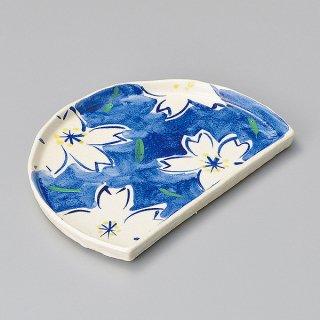 青桜半月皿 和食器 半月皿 業務用