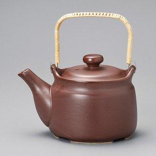 茶耐熱土瓶 80号 常滑焼 和食器 土瓶(大) 常滑焼 直火 業務用