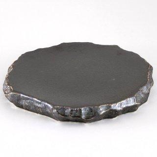 孔雀釉ロックプレート 大 和食器 丸皿(大) 業務用
