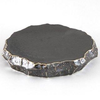 孔雀釉ロックプレート 中 和食器 丸皿(中) 業務用