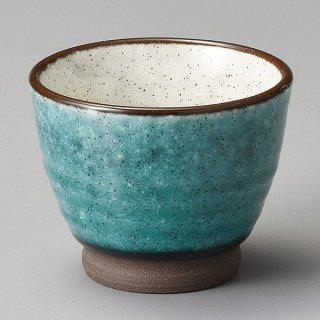 トルコ釉塗分けミニカップ 和食器 煎茶 業務用