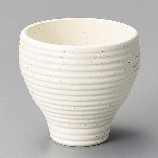 白千段削りカップ 小 和食器 煎茶 業務用