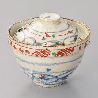 安南赤絵一口碗 和食器 蓋向・円菓子碗 業務用