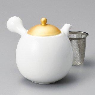 金彩玉急須 カゴアミ付 和食器 土瓶(小) 業務用