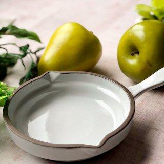 GC13cm片手パン ホワイト 洋食器 オーブンウェア グラタン 業務用 手付き 丸型 白 グラタン皿 オーブン料理 モダン