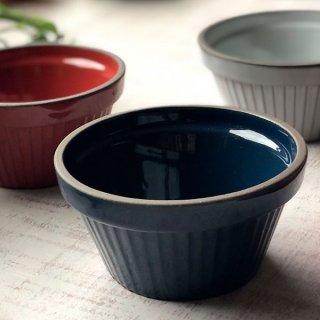 GC10cmスフレ ネイビー 洋食器 オーブンウェア スフレ・ココット 業務用 約10cm 丸型 紺 カップ ボウル デザート鉢