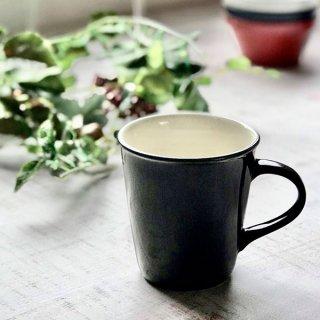 チャコールスタイルマグ 洋食器 マグ 業務用 約260cc チャコールグレー マグカップ 手付き カップ コーヒー カフェオレ