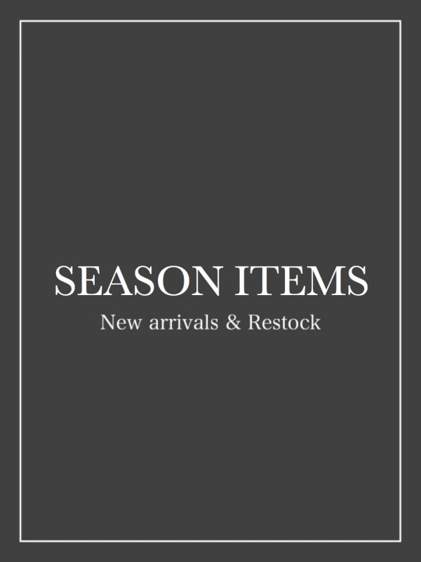 SEASON ITEMS