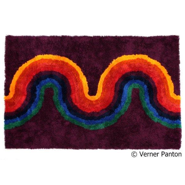 Verner Panton x Mid-Century MODERN Rugmat