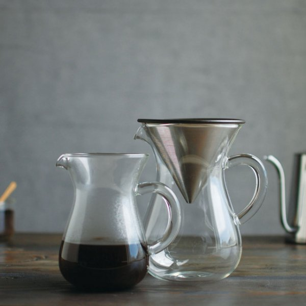 SLOW COFFEE STYLE コーヒーカラフェセット ステンレス 300ml