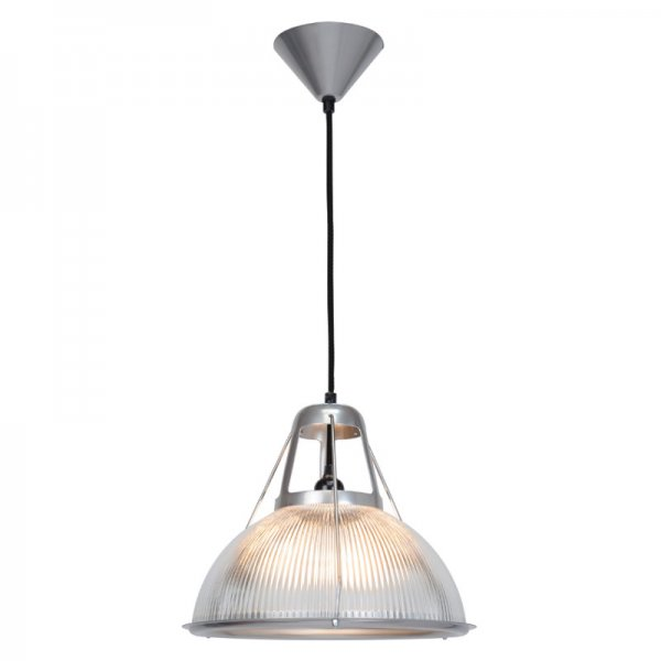 Phane Prismatic Glass Pendant Light