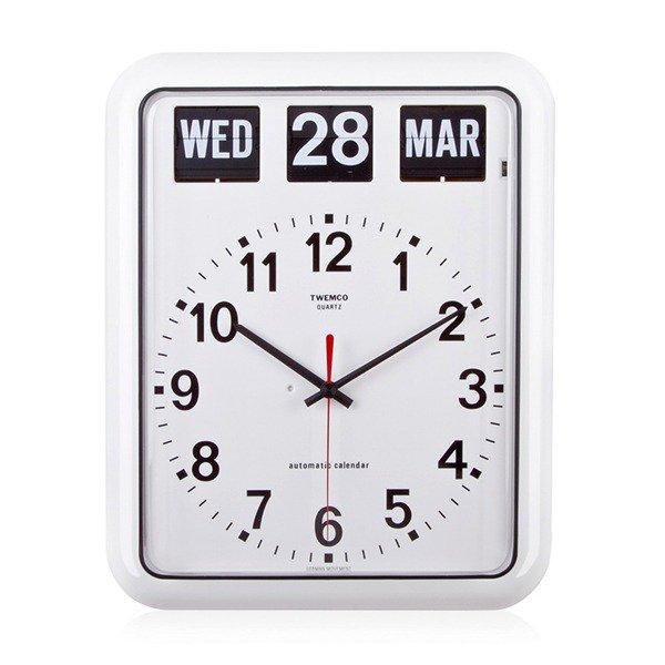 Twemco Automatic Calendar Quartz Clock #BQ-12A
