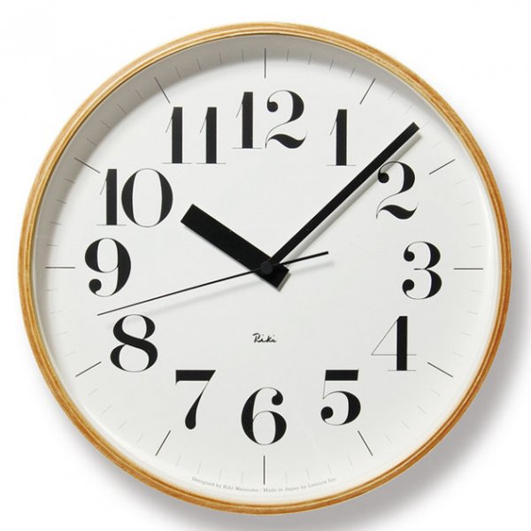 Riki Clock RC L 電波時計 (WR08-27)